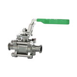 3-Piece Sanitary Ball Valve