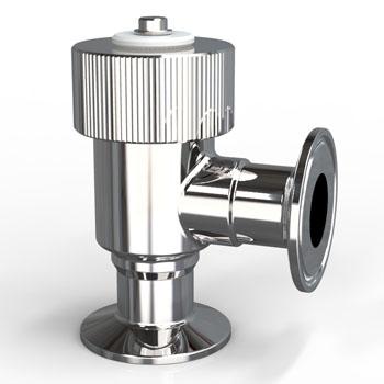 Sampling valve double ferrule type